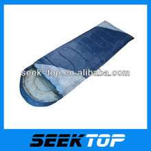 outdoor adult envelope sleeping bag uses of terylene and cotton