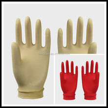 Disposable rubber glove latex glove for Beauty,Hair slon,Industrial