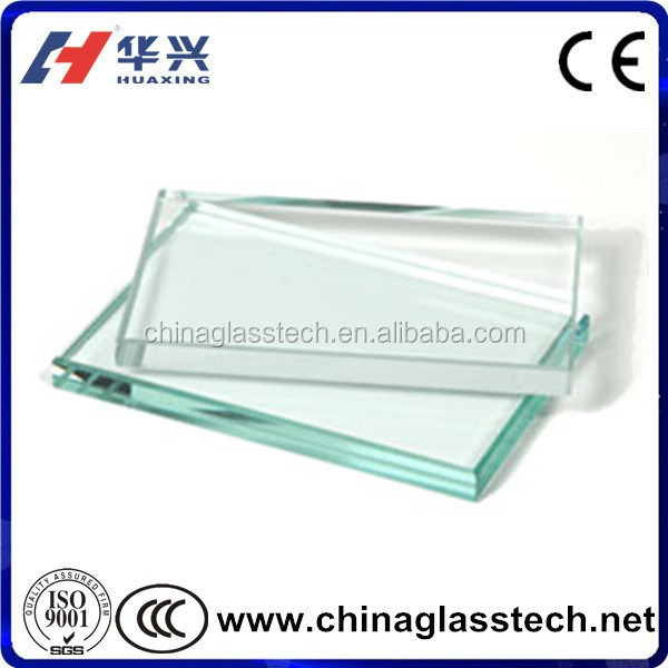 Frameless Glass Pool Fence Tempered Glass Panel with High Strength