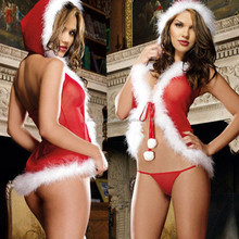 <strong>Sexy</strong> Christmas costume hot outfit <strong>underwear</strong>