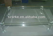 Acrylic Table,Transparent Lucite Coffee Table, Acrylic Furniture