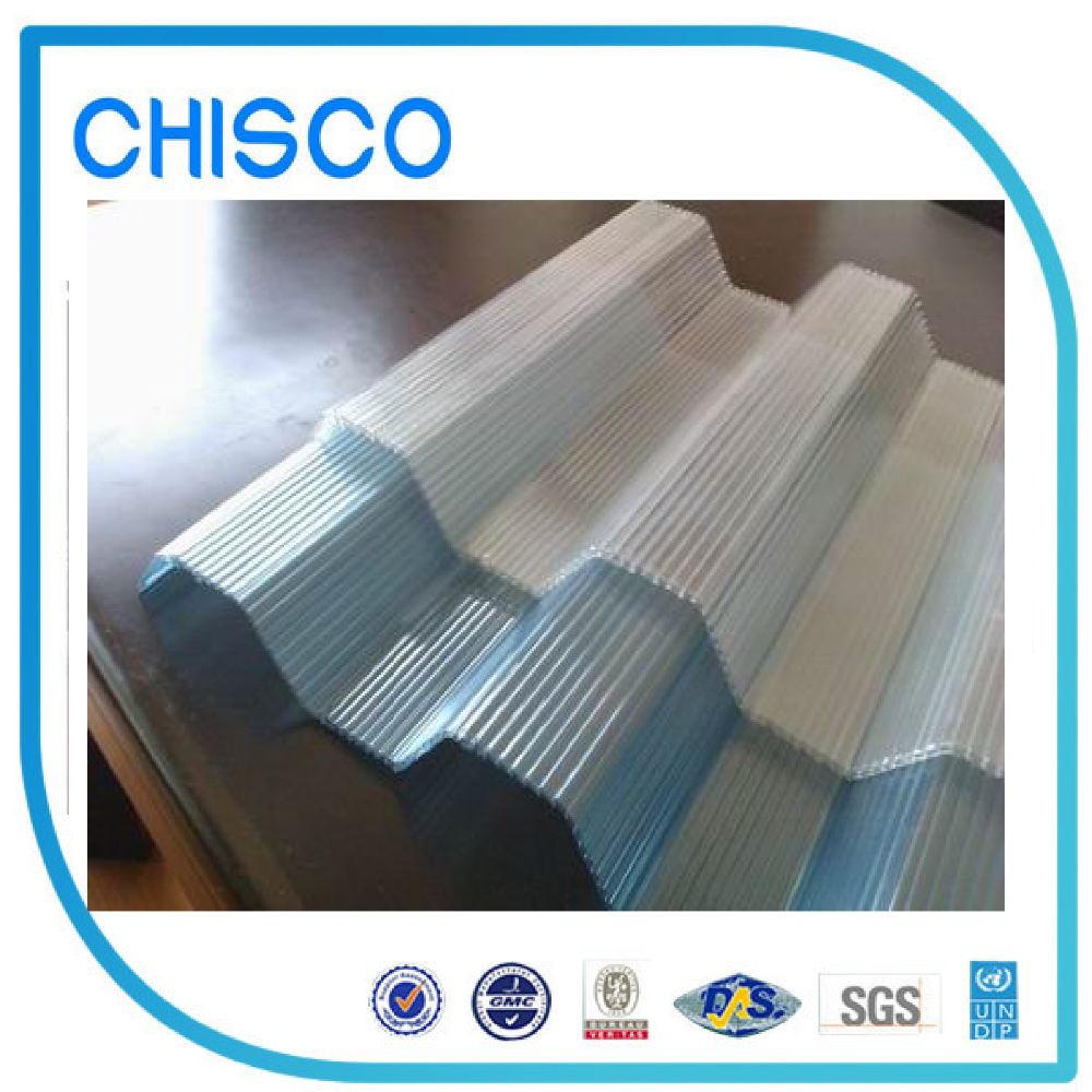 Custom Cut Solar Roof Tiles Polycarbonate Sheet For Greenhouse