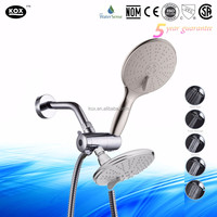 Without Diverter Bathroom Faucet Spout Feature and Hand Showers Bathroom Faucet Accessory Type ceiling mounted rain shower head