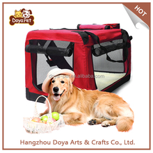 High Quality Red Folding Dog Carry Bag