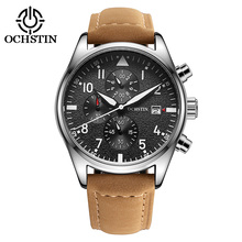 Custom Fashion Sport Chronograph Movt Quartz Man Wrist watch Factory