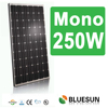 high efficiency solar module 250wp with ISO CE TUV UL certificates