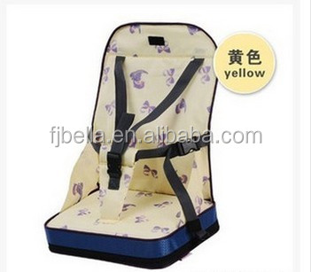 Baby Portable Feeding Booster Seat Dining Toddler Travel High Chair Cushion Foldable Baby Seat Cushion