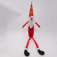 84cm sitting Christmas Santa honeycomb paper balls for decoration