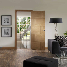 Latest design interior laminated flush wooden doors in Guangzhou China