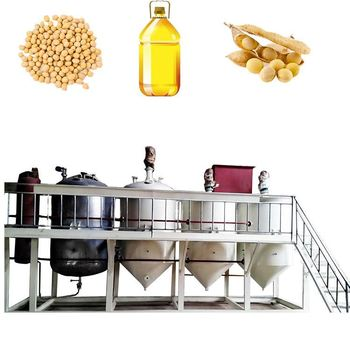 sunflower oil refining / soybean oil refining/cotton seed oil refining