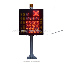 Toll Station LED Digital Price Number Display Fare LED Board Indicator