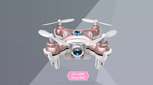 Professional Cheerson CX-10W CX10W Drone Mini Wifi FPV 0.3MP Drone with HD Camera Remote Control Quadcopter