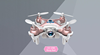 Professional Cheerson CX-10W CX10W Wifi FPV 0.3MP Camera LED 3D Flip 4CH CX10 Update Version Mini Drone BNF Helicopter Toy Gift