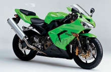 Fairings For Kawasaki Ninja ZX10R ZX-10R 04 05 Year 2004 2005 ABS Injection Plastic Green Fairing Kit