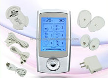 electric mini pulse stimulating rechargeable tens therapy massager with CE, RoH,FDA approval