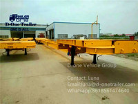 4 wheel trailer chassis,small trailer chassis,aluminium trailer chassis