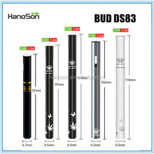 fancy bud ds80 ibuddy-ds92 empty disposable e cig with 0.2ml/0.8ml CO2 tank optional