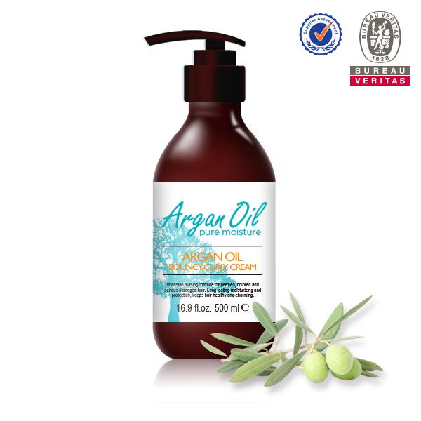 Argan Oil Bouncy-Curly Hair Cream Curl Maintainance