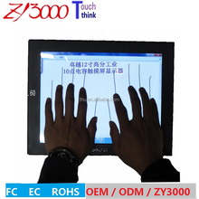 new stock 12 inch open frame metal casing 10 points capacitive multi TouchscreenTFT LCD industrial Monitor