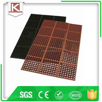 Rubber Floor Mat To Maintain A