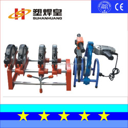 SH63-200-4H Manual Polyethylene hdpe pipe fitting Butt Welding Machine