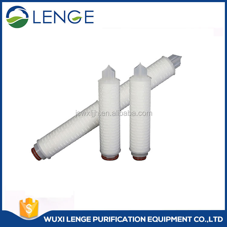 Pharmaceutical Water Cartridge Filter, PES Pleated Filter