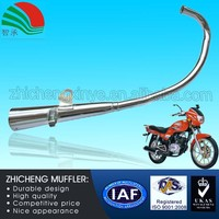 200CC Sound Variable Universal Motorcycle Muffler Stainless Steel Exhaust