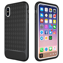 China Cell Phone Accessories Case Manufacturer TPU PC Hybrid Combo Armor Shockproof Mobile Bumper Case Back Cover For iPhone X