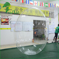 Clear PVC Plastic Egg Cartoons, Giant Transparent Inflatable Easter Eggs, Egg Shaped Balloons