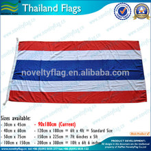 National Day Used Economic Polyester 3x5 Feet Thailand country Flag
