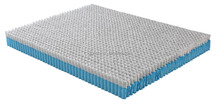 Double decker pocket spring for bedroom mattress