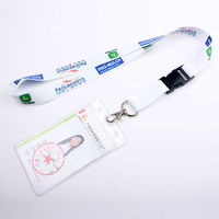 Cheap custom neck id card holder lanyard with your own logo & free design and sample