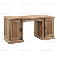 Antique Wooden Antique Style White pine natural 165*70*78cm study table
