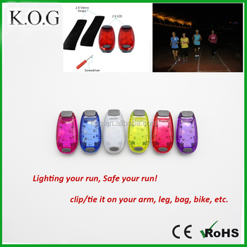 Clip On LED Safety Light for Running, Walking Dogs, Riding