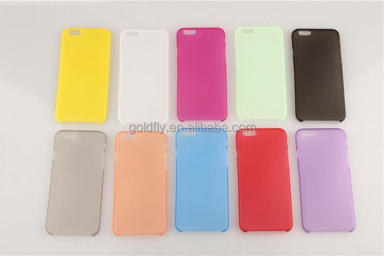 0.26mm ultra thin Slim Matte Transparent Guard soft plastic back case cover skin for iPhone 6 4.7""