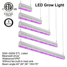 2018 New  ETL Listed 500W Eshine Systems Hydroponic Full Spectrum Best Indoor SMD LED Plant Grow Light