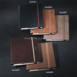 Office supply stationery custom cute leather planner notebook
