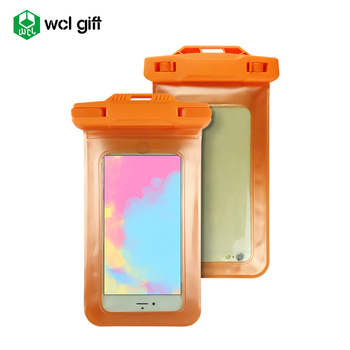 Mini camera mobile cover personalized gift IPX8 PVC TPU waterproof cell phone pouch