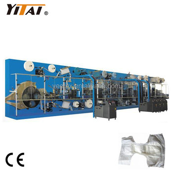 Full Servo Adult Disposable Diaper Machine, Adult Diaper Machine Manufacturer/supplier in China