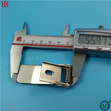 Manufacturer recessed & panel light torsion spring clip for led downlight