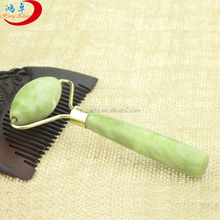 new products green jade quartz neck roller <strong>massager</strong> for beauty