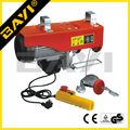 PA type mini electric chain hoist electric hoist winch with running trolley