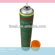 Multi-use 750ml Can High Density Rigid PU Foam Sealant Spray Foam Insulation Polyurethane Foam Manufacturer