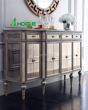 wholesale and hot sale.modern dinning room furniture buffet living room mirrored cabinets furniture.