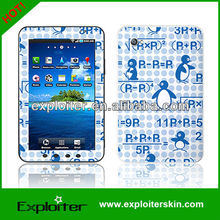 Tablet radiation protection sticker