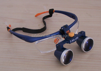 Two-way spiral loupes Magnifying glasses dental and surgical loupes lamp bulb