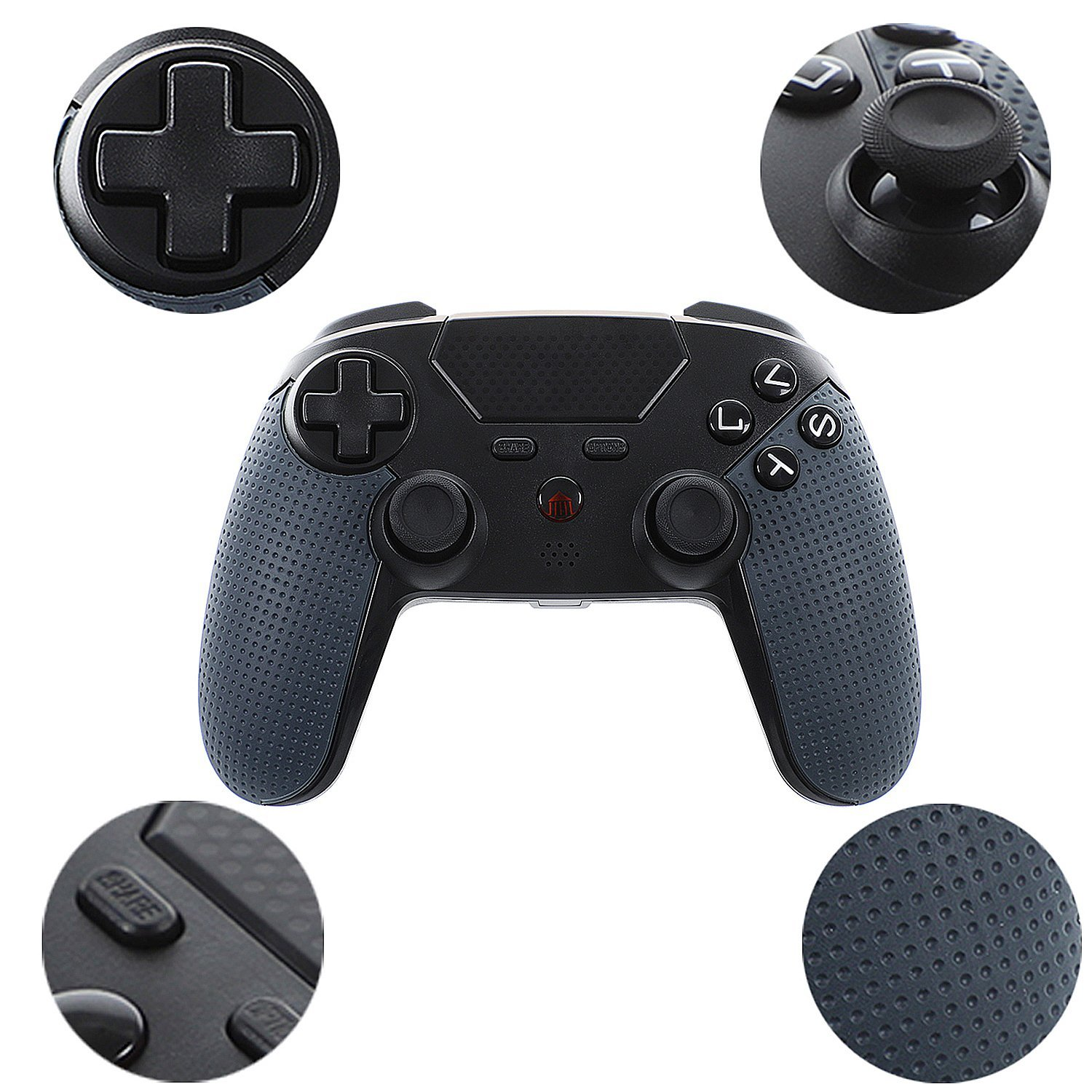 Wireless game controller for PS4