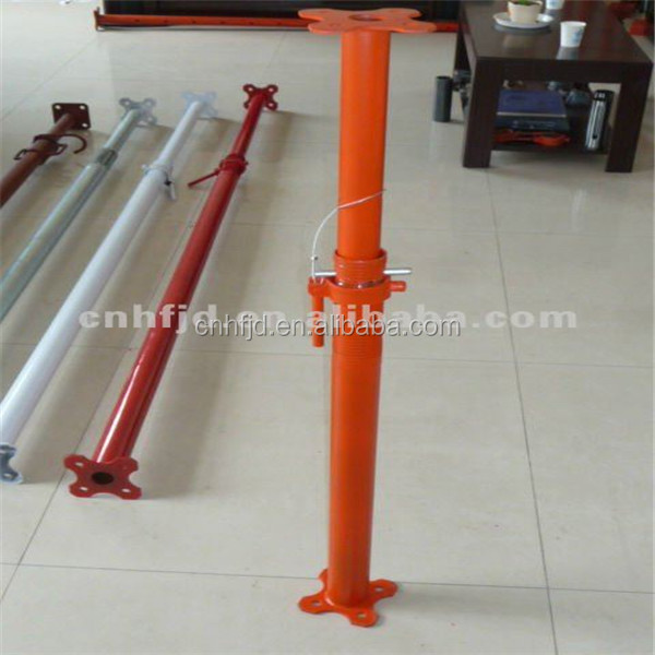 Steel Roof Support Beams Scaffolding india price/ used construction shoring props adjustable jack base