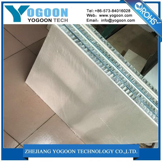 high grade aluminium honeycomb wall panel for architectural ornament