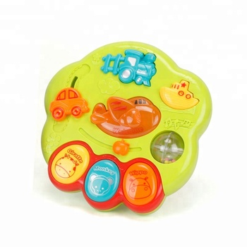 Traffic Park Lovely Game Baby Musical Toy with light and music